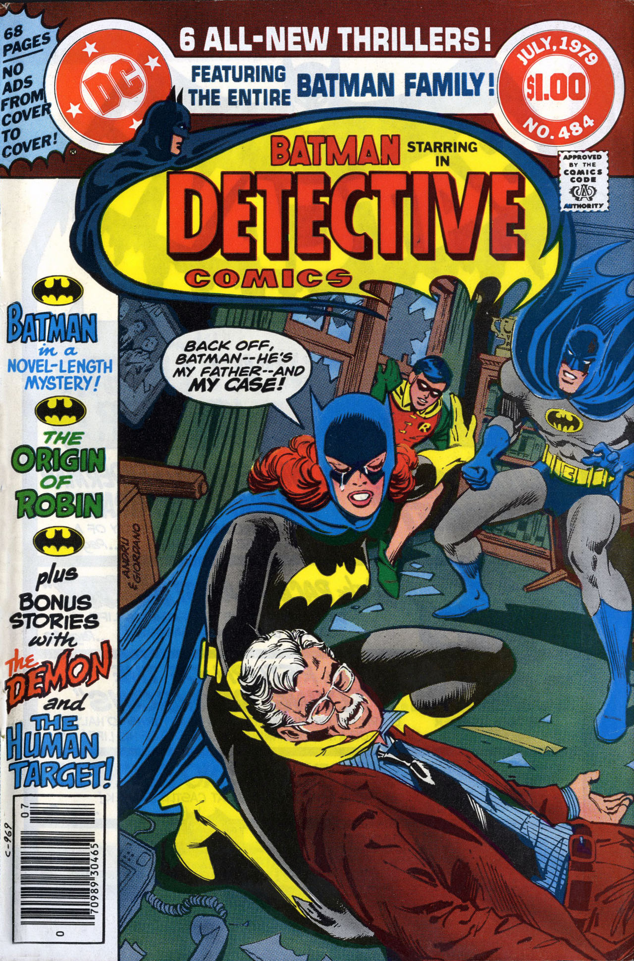 Detective Comics (1937) 484 Page 1