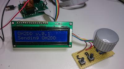 OH2DD - radioamatööri CW kisakone ATMEL prosessoriin perustuen