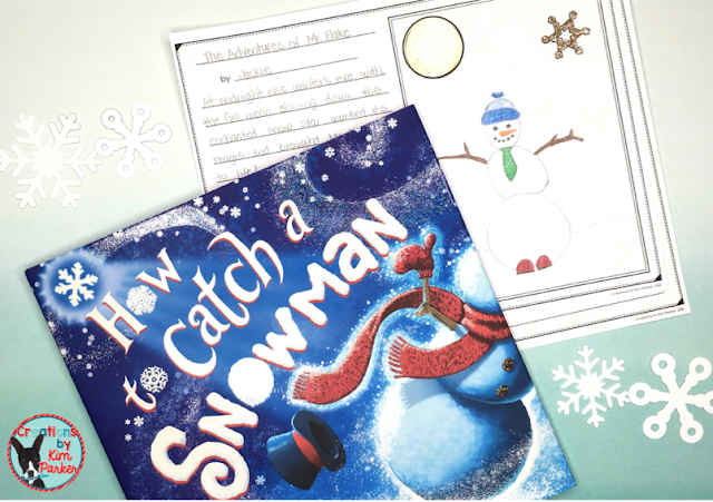 How to Catch a Snowman is a great winter read aloud your students will love! Includes FREE writing activity!