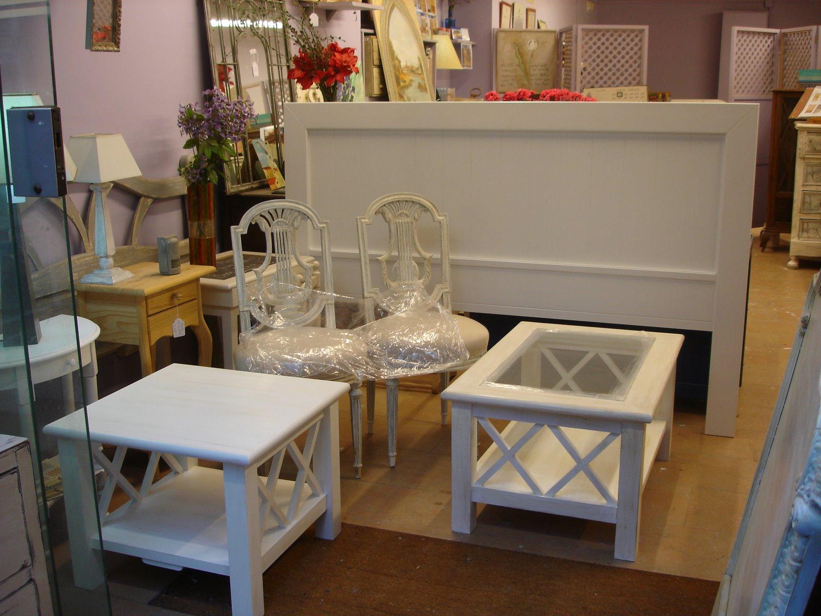 Candini muebles pintados nuevos y redecorados muebles - Muebles en blanco ...