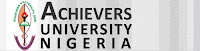 Courses Offered In Achievers University Owo, Direct Entry and Cut Off Marks