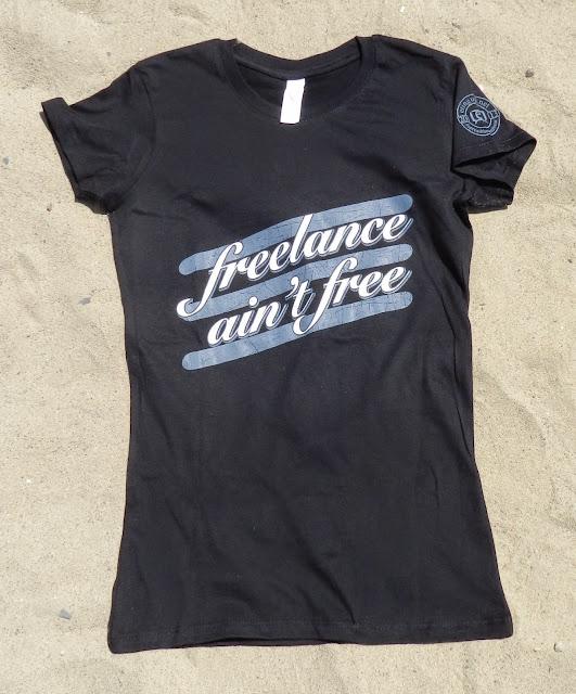 Spreadthewordwear Women's 'freelance ain't free' shirt