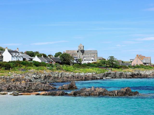 جزيرة سواحل اسكتلندا الوعرة