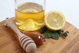 citron et miel pour points noirs nez