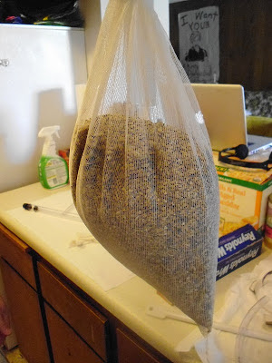 Grains in bag