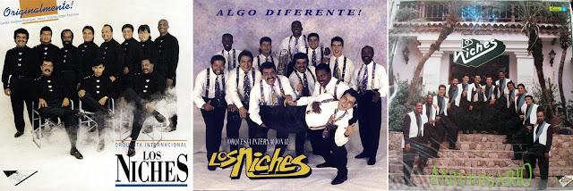 LPs de Los Niches en los que participó Edgar Espinosa