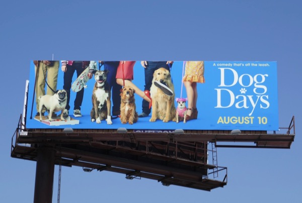 Dog Days movie billboard