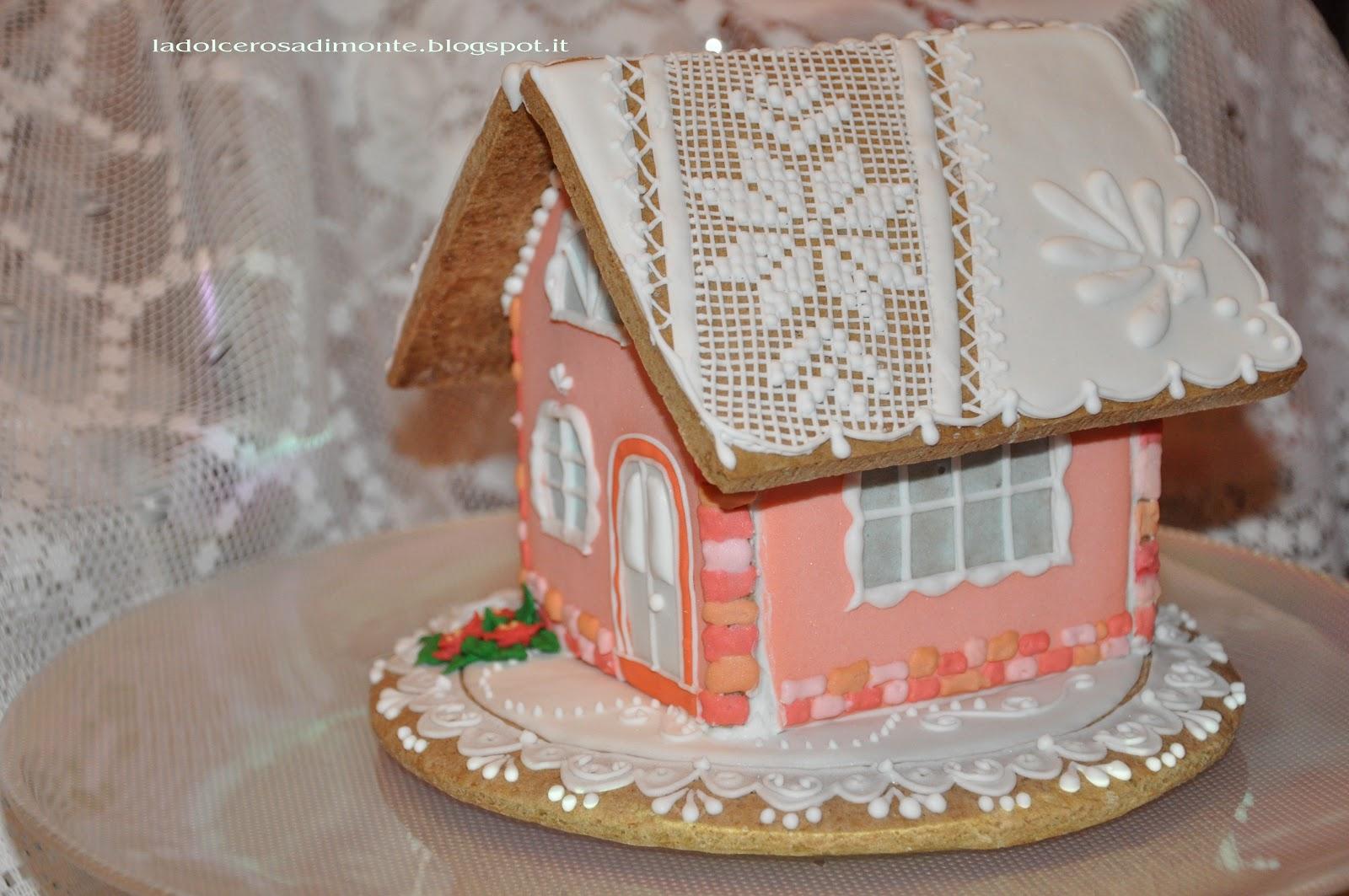 Casette Dolci Di Natale.La Dolce Rosa Di Monte Casette Gingerbread Natale 2016