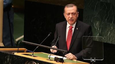 Erdogan di PBB: Kami akan memerangi teror dalam istilah kami sendiri