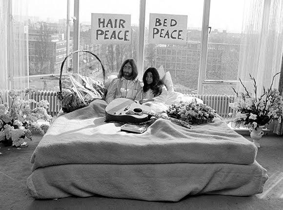 Des images de John Lennon et Yoko Ono ont refait surface aux Pays-Bas
