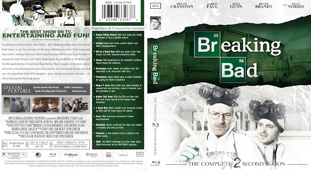 Capa Bluray Breaking Bad Segunda Temporada Completa