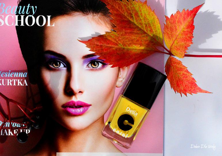 Beauty School by ShinyBox - Delia Lakier do paznokci Trend&Big Brush