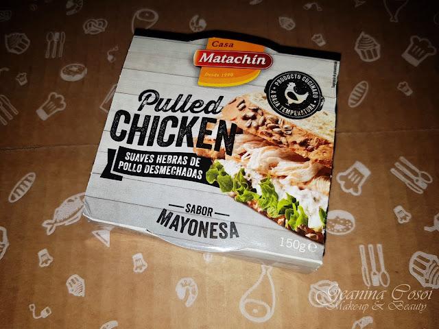 Carne de pollo Pulled Chicken Casa Matachín Caja Degustabox - Octubre ´17