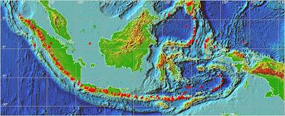 Hasil gambar untuk peta indonesia ring of fire