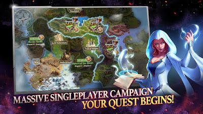 MIGHT & MAGIC HEROES: ERA OF CHAOS MOD APK + OBB FOR ANDROID