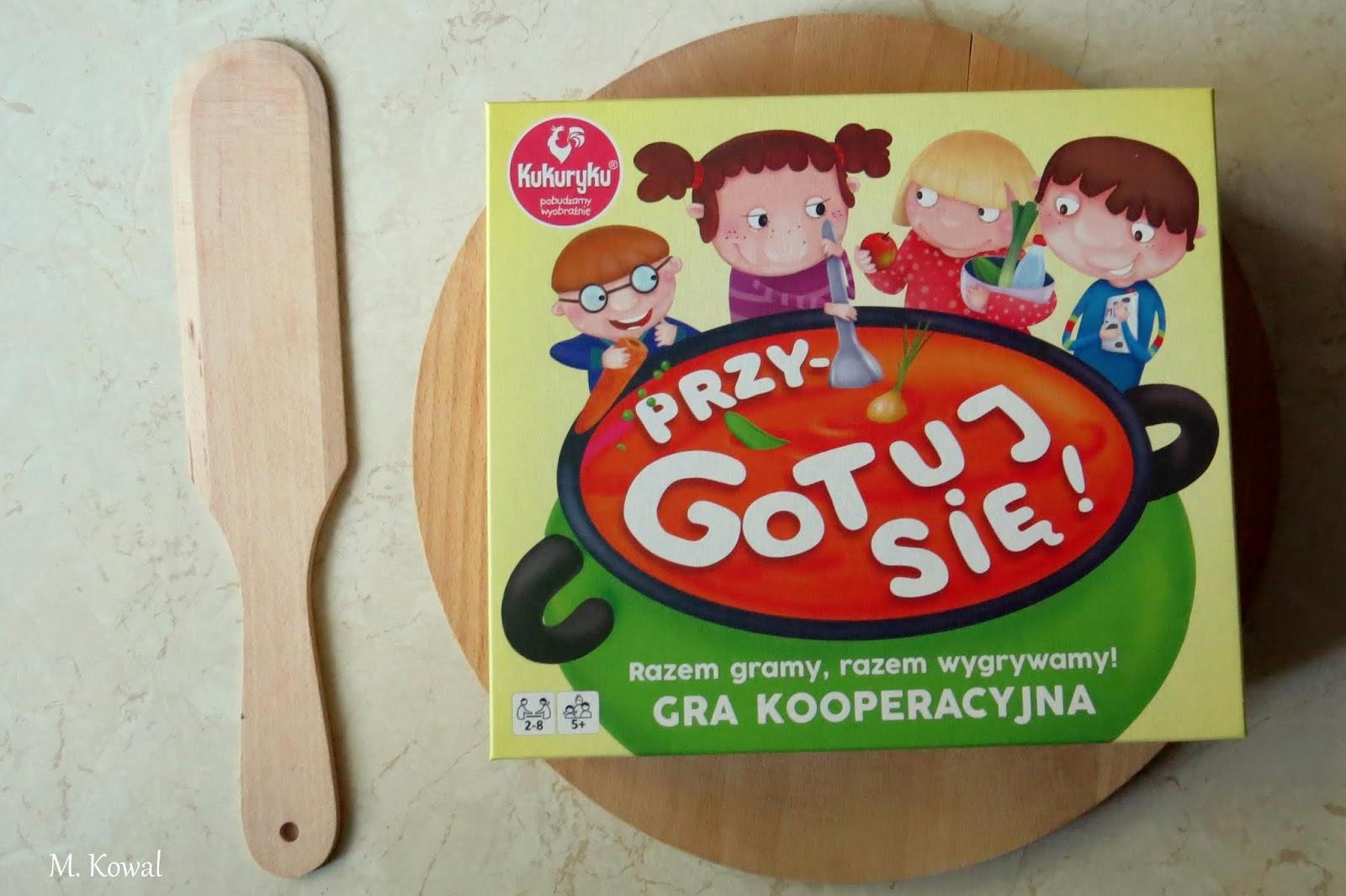 """Wspólne kucharzenie, czyli """"Przygotuj się"""" od wydawnictwa Kukuryku"""