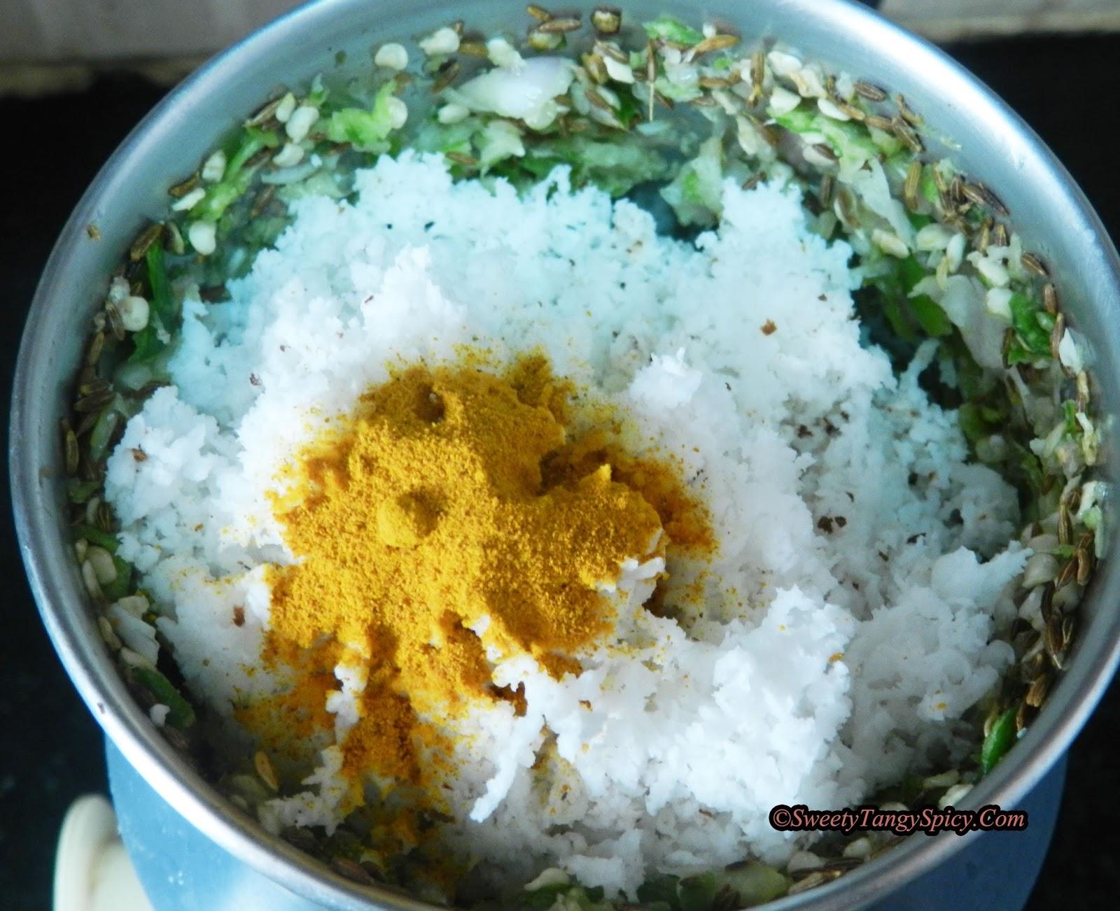 Sweety Tangy Spicy: Thenga othukiyathu - Coconut Preparation For ...