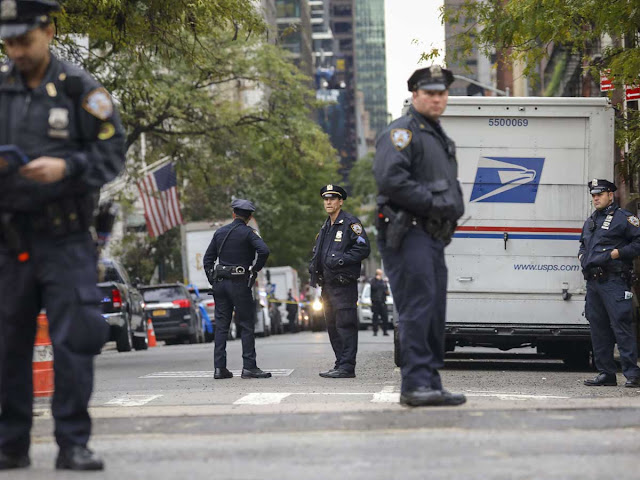 Another suspicious package for CNN intercepted at post office