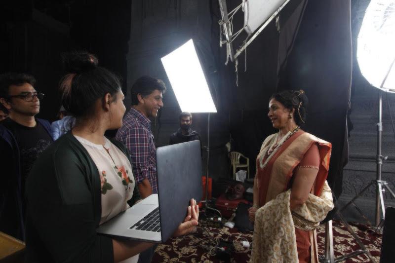 Gautamiputra satakarni movie Latest Working Stills