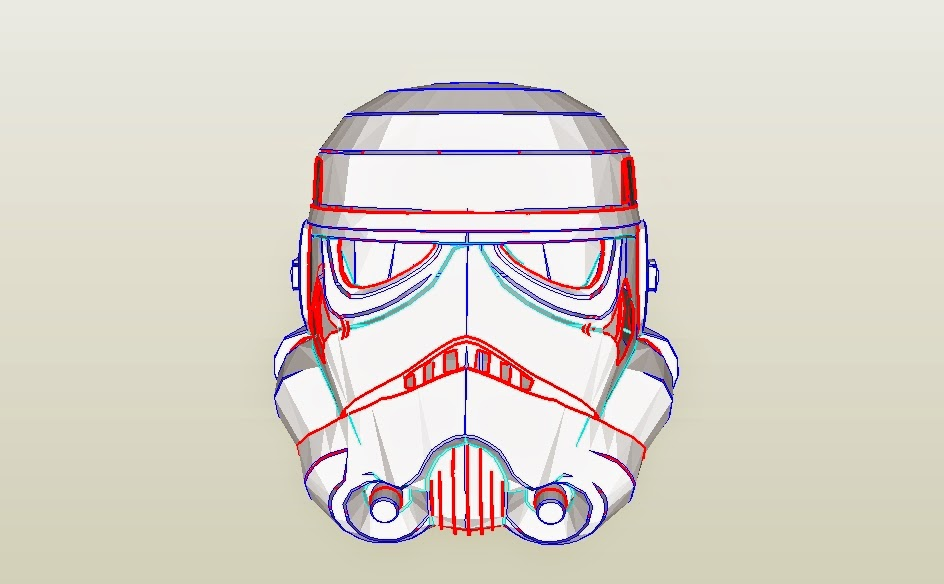 Stormtrooper Helmet Papercraft Pdf