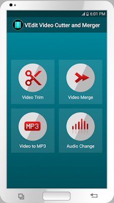تحميل برنامج اضافة تأثيرات على مقاطع الفيديو للاندرويد 2018 مجانا VEdit Video Cutter and Merger
