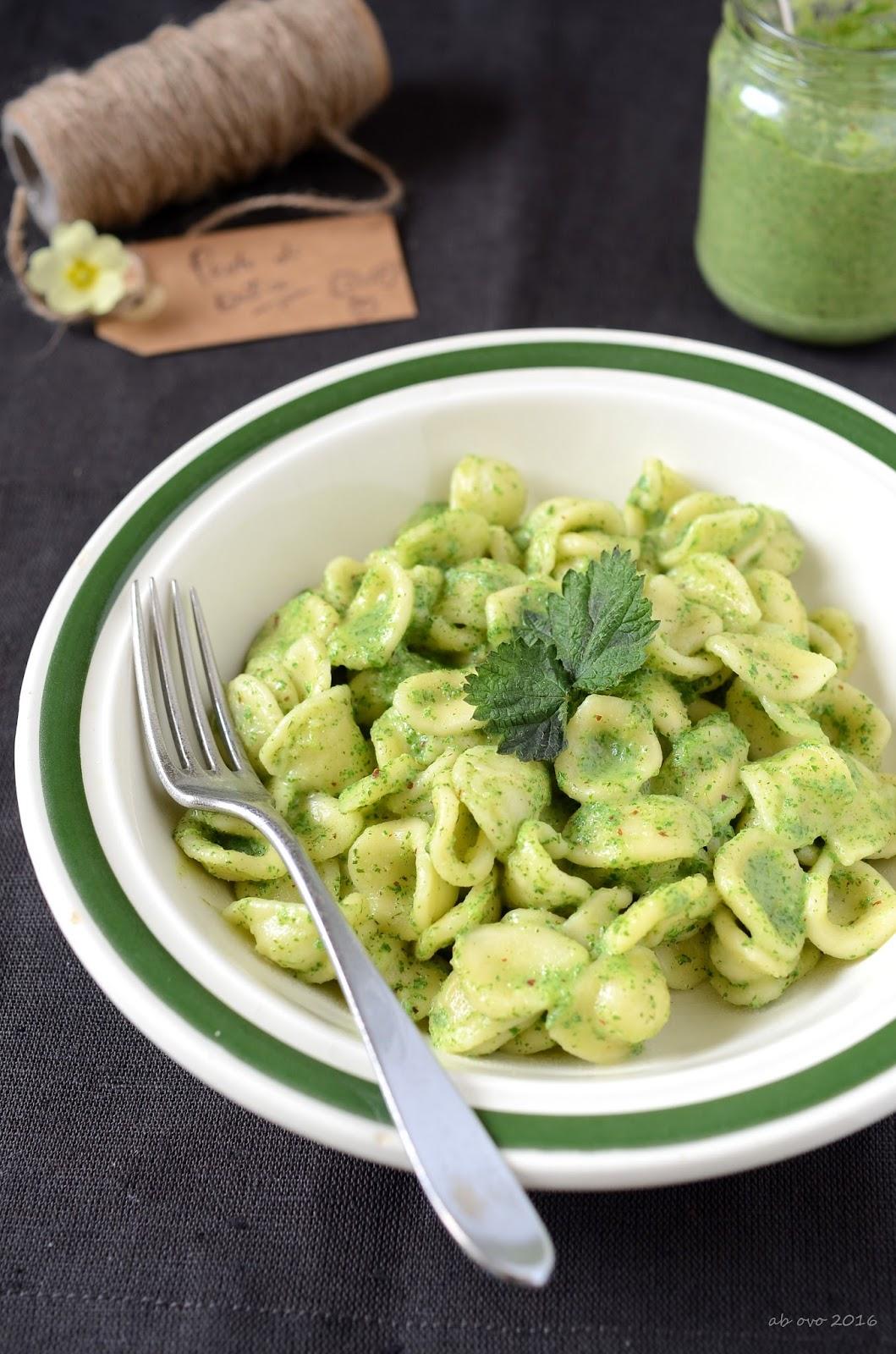 Ab ovo blog di ricette pesto di ortica for Cucinare ortica