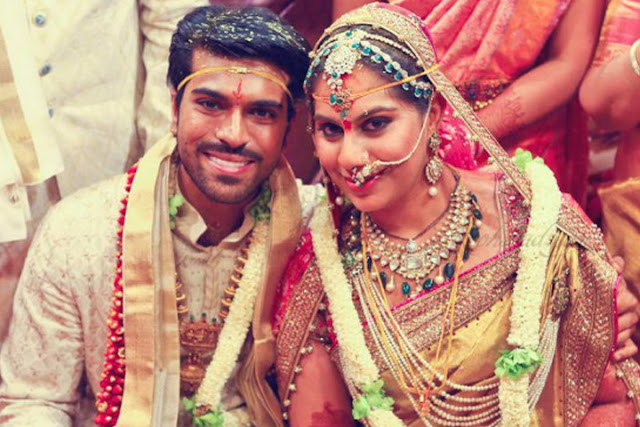 Ram Charan Marriage Photos