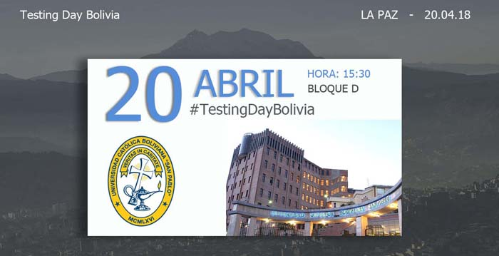 Testing Day Bolivia