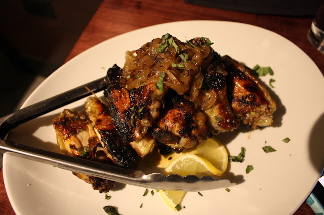 Coal Roasted Lemon Basil Wings at SLYCE