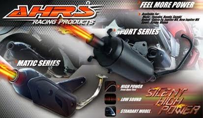 Knalpot Motor AHRS