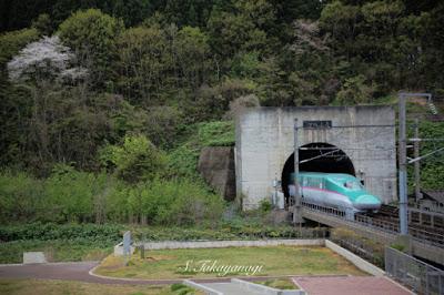 三厩の北海道への入り口青函トンネル