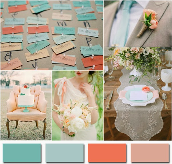 Pink Wedding Themes Ideas: Two's A Company: Wedding Trend # 9: Hot Colours For 2014