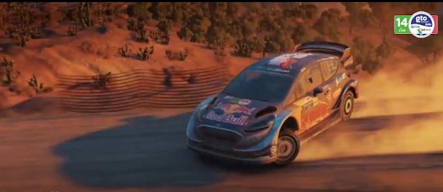 WRC 17 presenta el Ford Fiesta de Sébastien Ogier