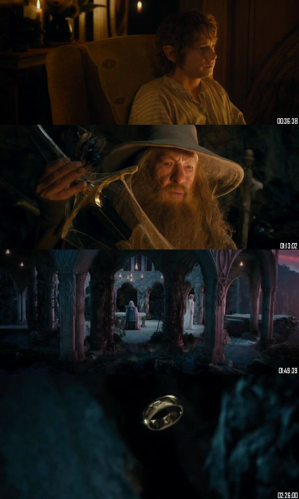 The Hobbit An Unexpected Journey 2012 BRRip 720p 480p Dual Audio Hindi English Full Movie Download