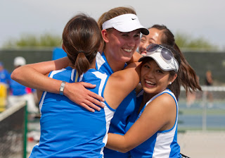 How to deal with not being a favorite on your tennis team