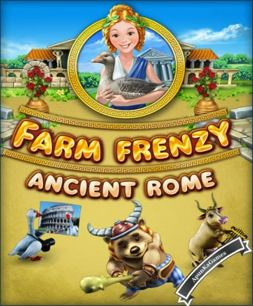 Farm Frenzy Ancient Rome Cover, Poster