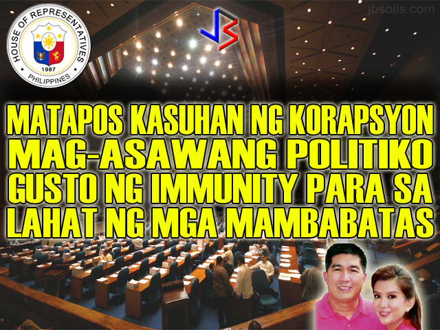 Pork Barrel, Corruption and Murder - This Congresswoman Wants Immunity For All Lawmakers!