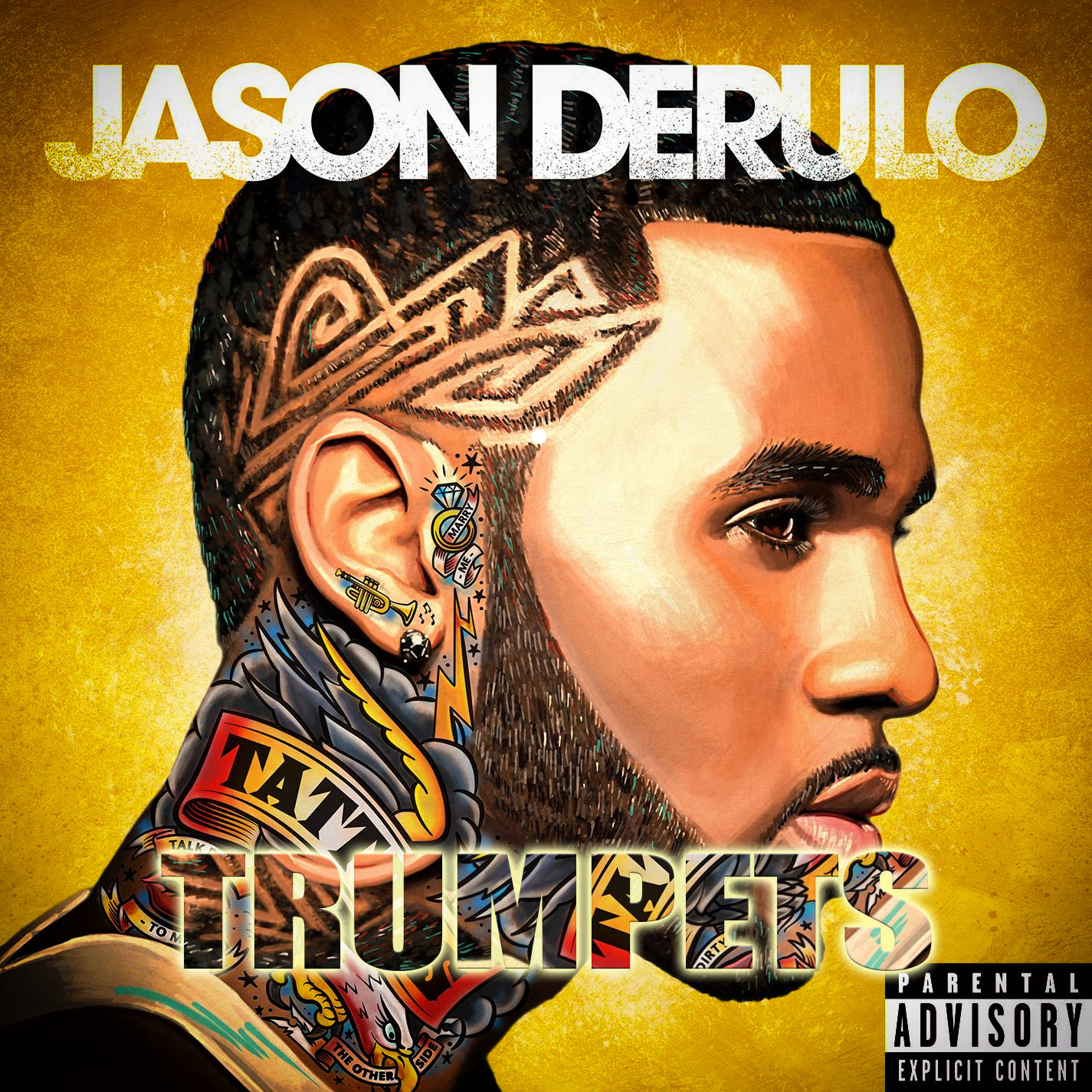 Trumpets  Jason Derulo  Music Letter Notation with