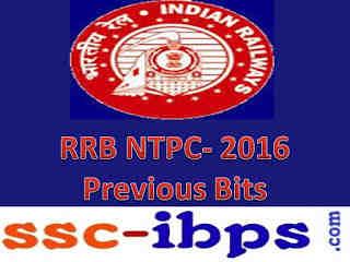 Railway Exam(Asm,TA,CA,Goods Guard) -2016: Previous Bits