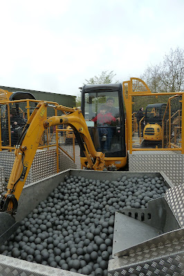 Diggers at Legoland Windsor