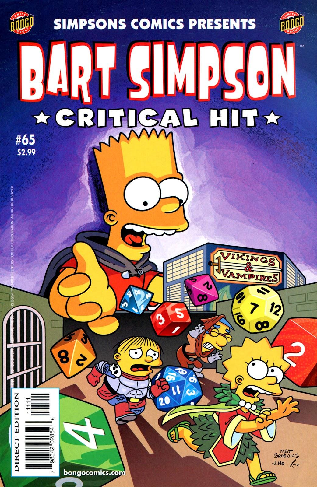 Simpsons Comics Presents Bart Simpson 65 Page 1