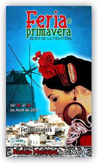 Vejer de la Frontera - Cartel de Feria 2012