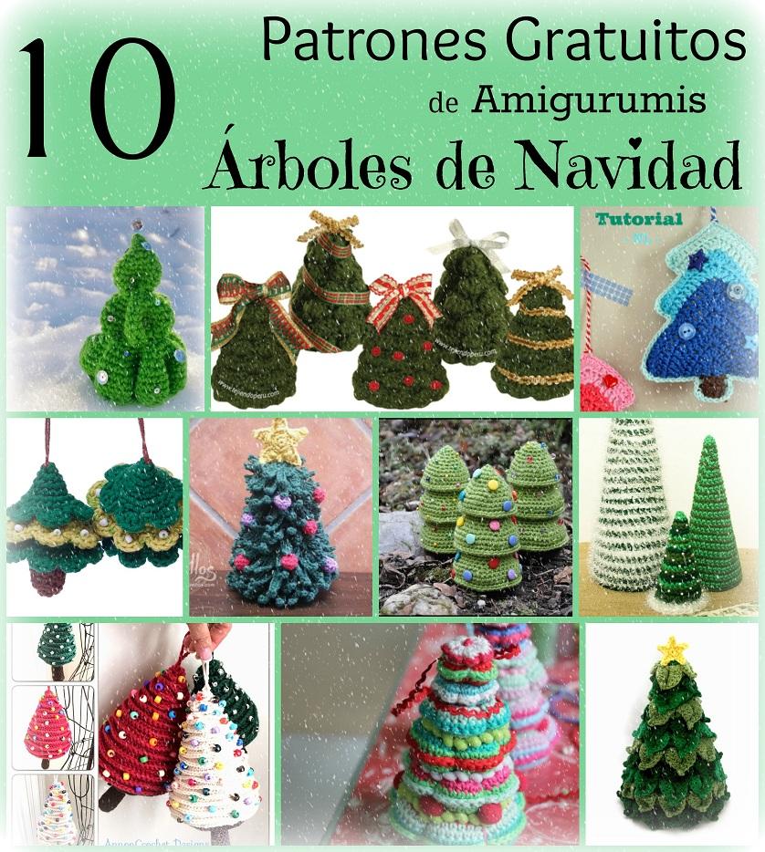 http://artefriki.blogspot.com.es/2014/11/10-patrones-gratuitos-arbol-navidad-amigurumi.html