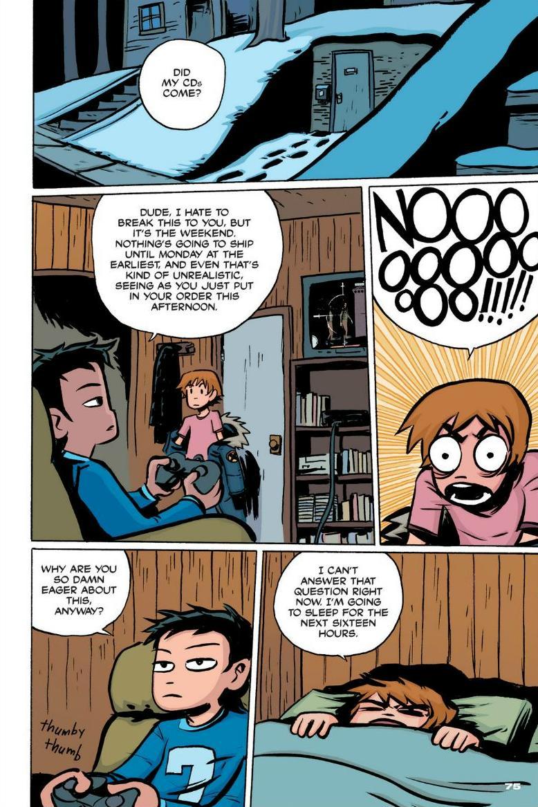 Read online Scott Pilgrim comic -  Issue #1 - 68