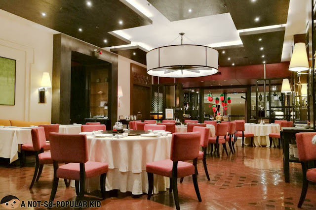 Interior of Jasmine Restaurant, New World Hotel