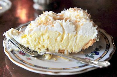 Old-Fashioned Coconut Cream Pie Save to Cookbook