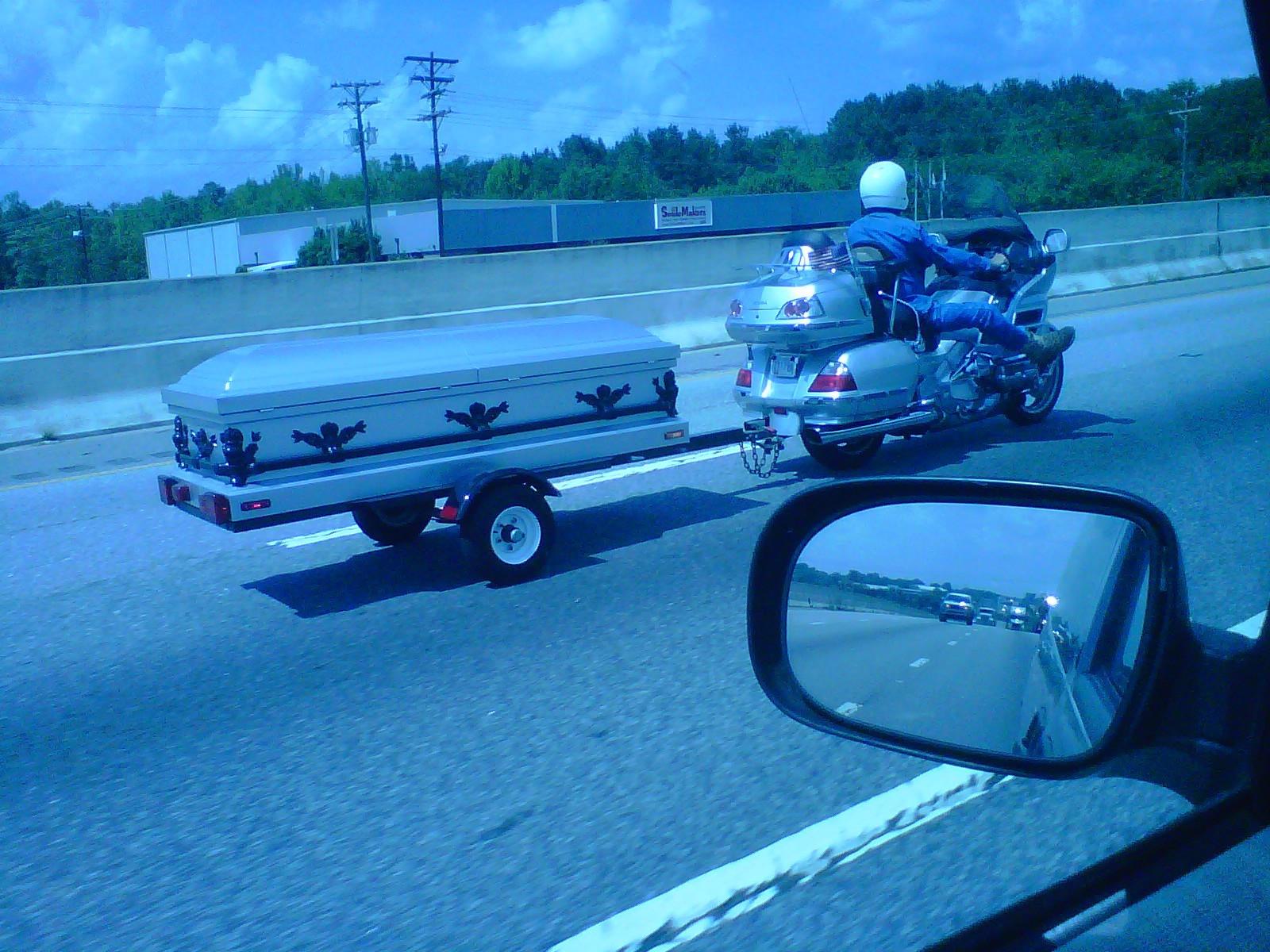 motos fúnebres