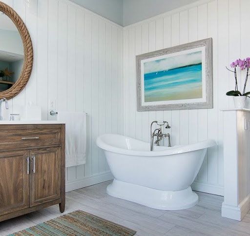 Coastal Wall Art Decor Ideas for the Bathroom