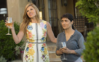 Salma Hayek and Connie Britton in Beatriz at Dinner (3)
