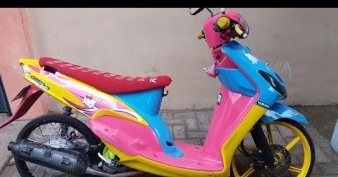 77 Modifikasi Yamaha Mio Foto Gambar Terbaru  Modif Motor
